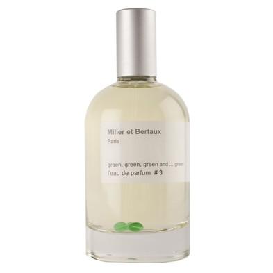 Miller et Bertaux green, green, green and ... green #3 аромат