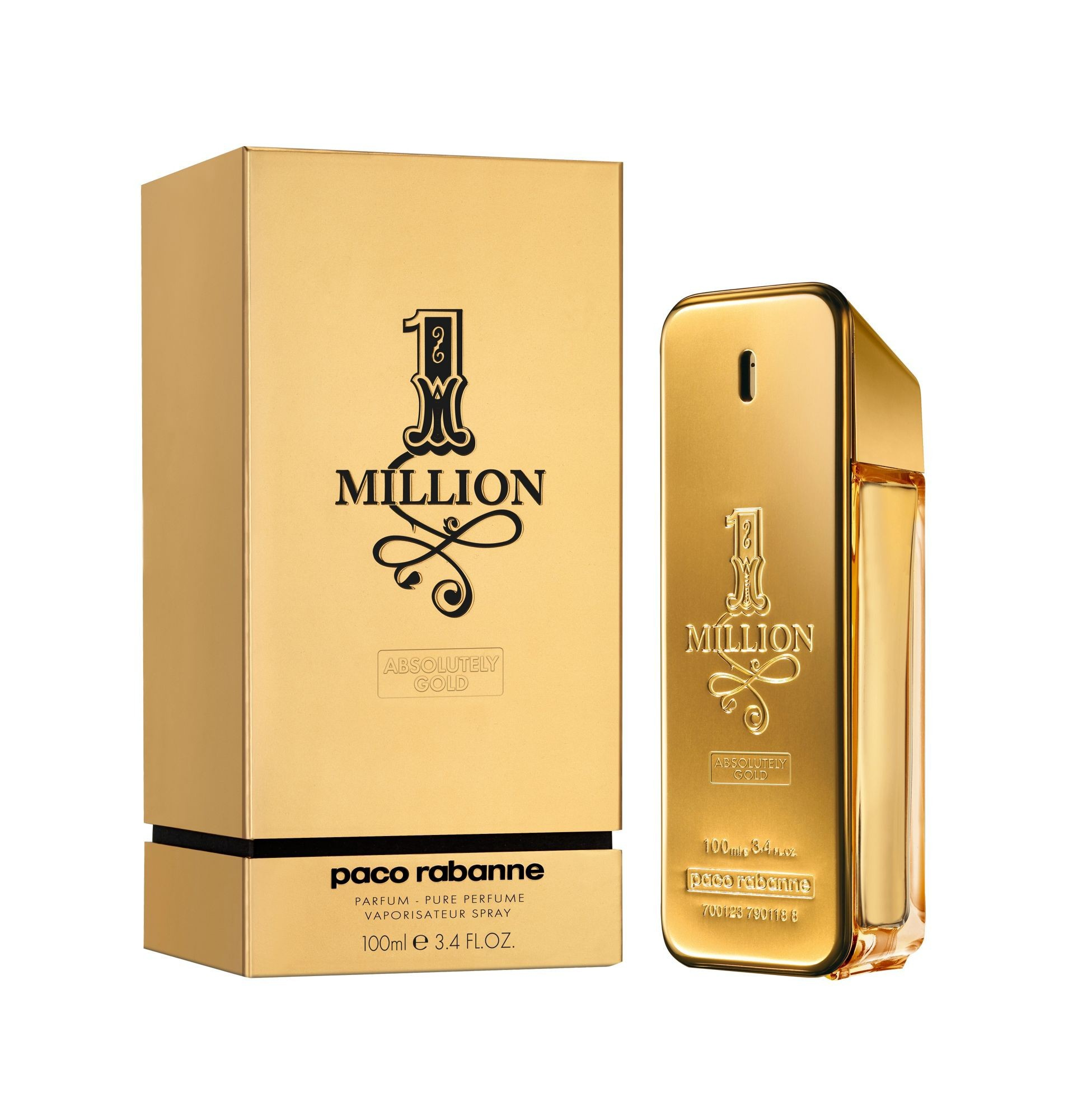 Paco Rabanne 1 Million Absolutely Gold аромат для мужчин