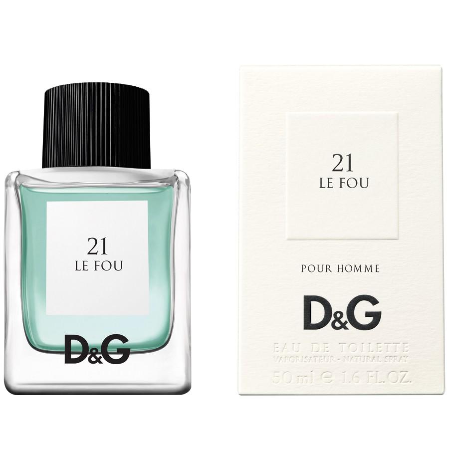 Dolce&Gabbana 21 Le Fou аромат для мужчин