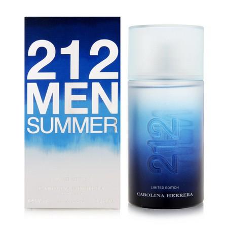 Carolina Herrera 212 Men Summer аромат для мужчин