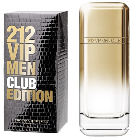 Carolina Herrera 212 VIP Men Club Edition аромат для мужчин