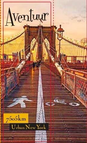 Aventuur 7505 Km Urban New York аромат для мужчин и женщин