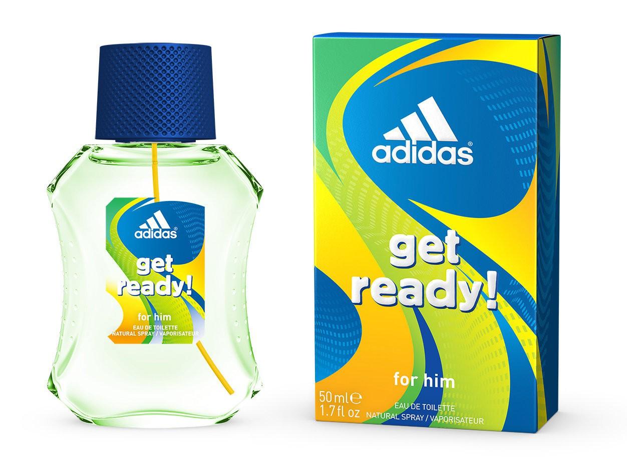 Adidas Get Ready For Him аромат для мужчин