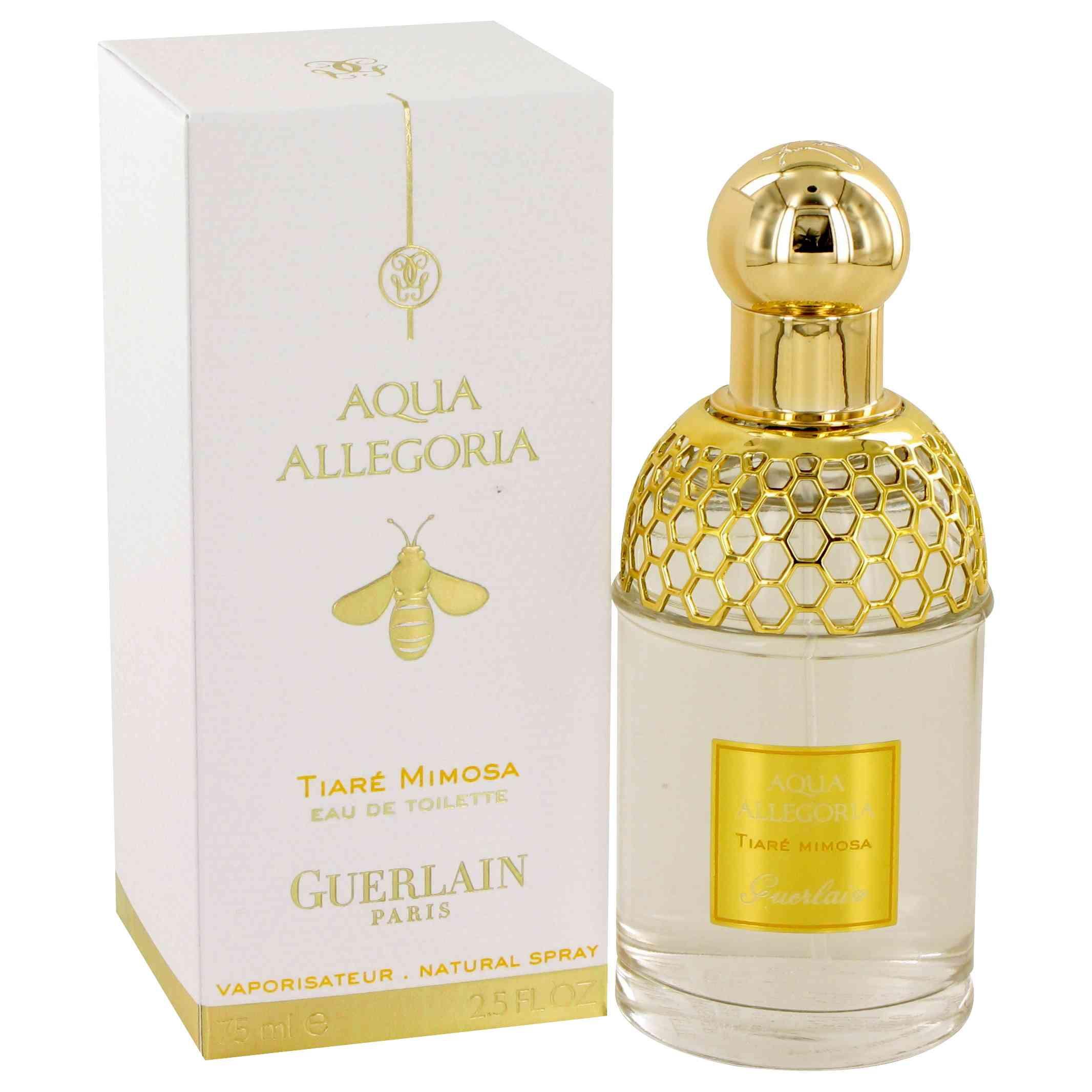 Guerlain Aqua Allegoria Tiaré Mimosa аромат для женщин