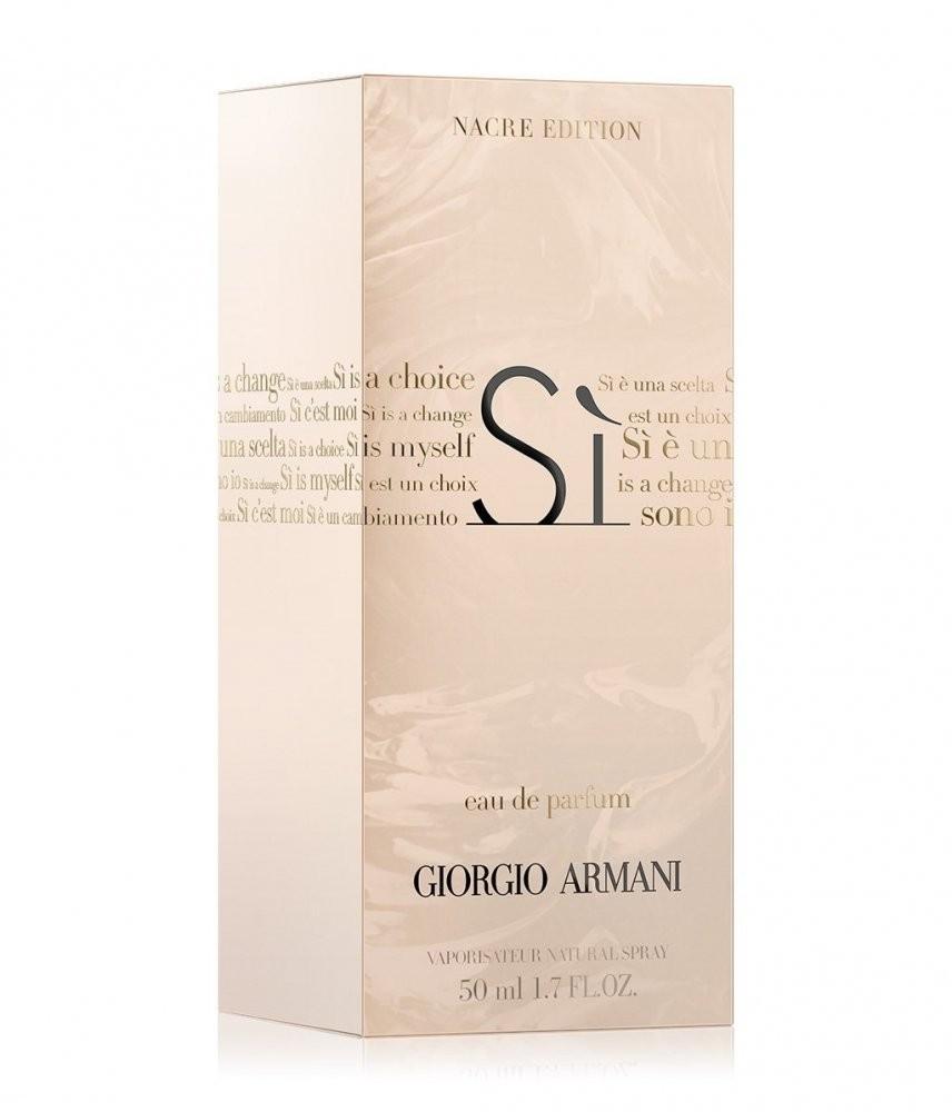 Armani Sì Sono Io Nacre Edition аромат для женщин