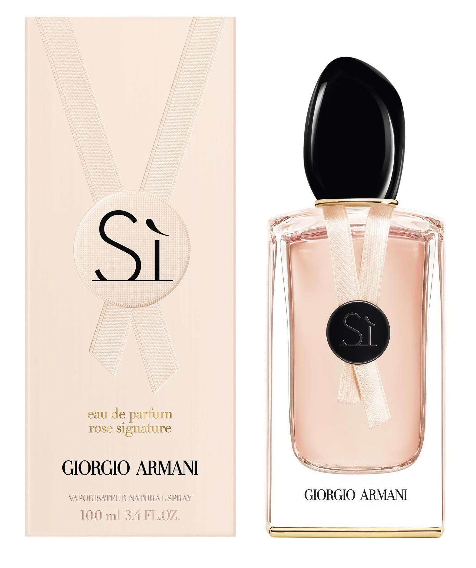 Armani Si Rose Signature II Eau De Parfum аромат для женщин
