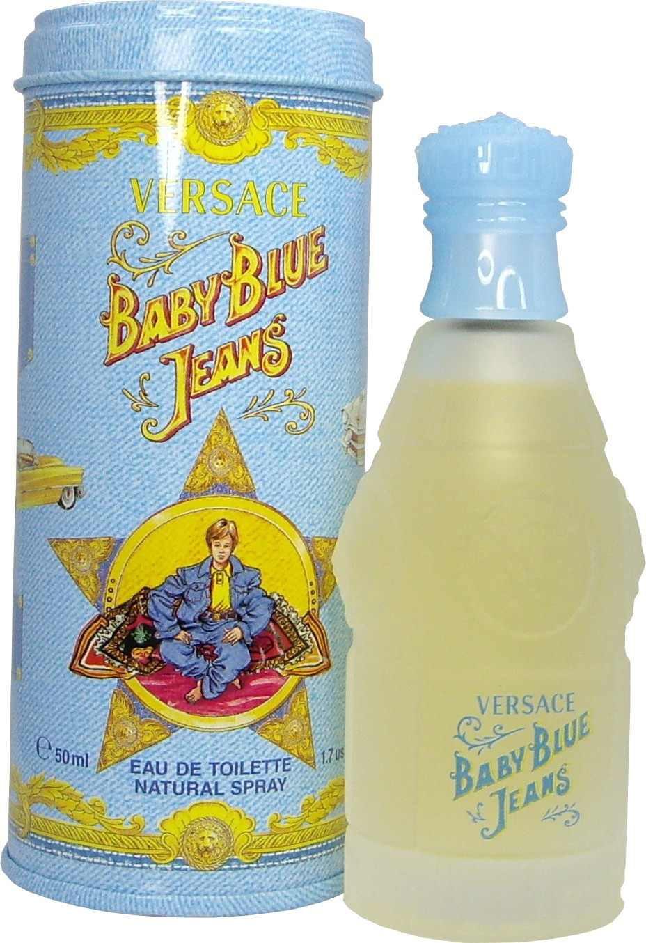 Versace Baby Blue Jeans аромат для мальчиков