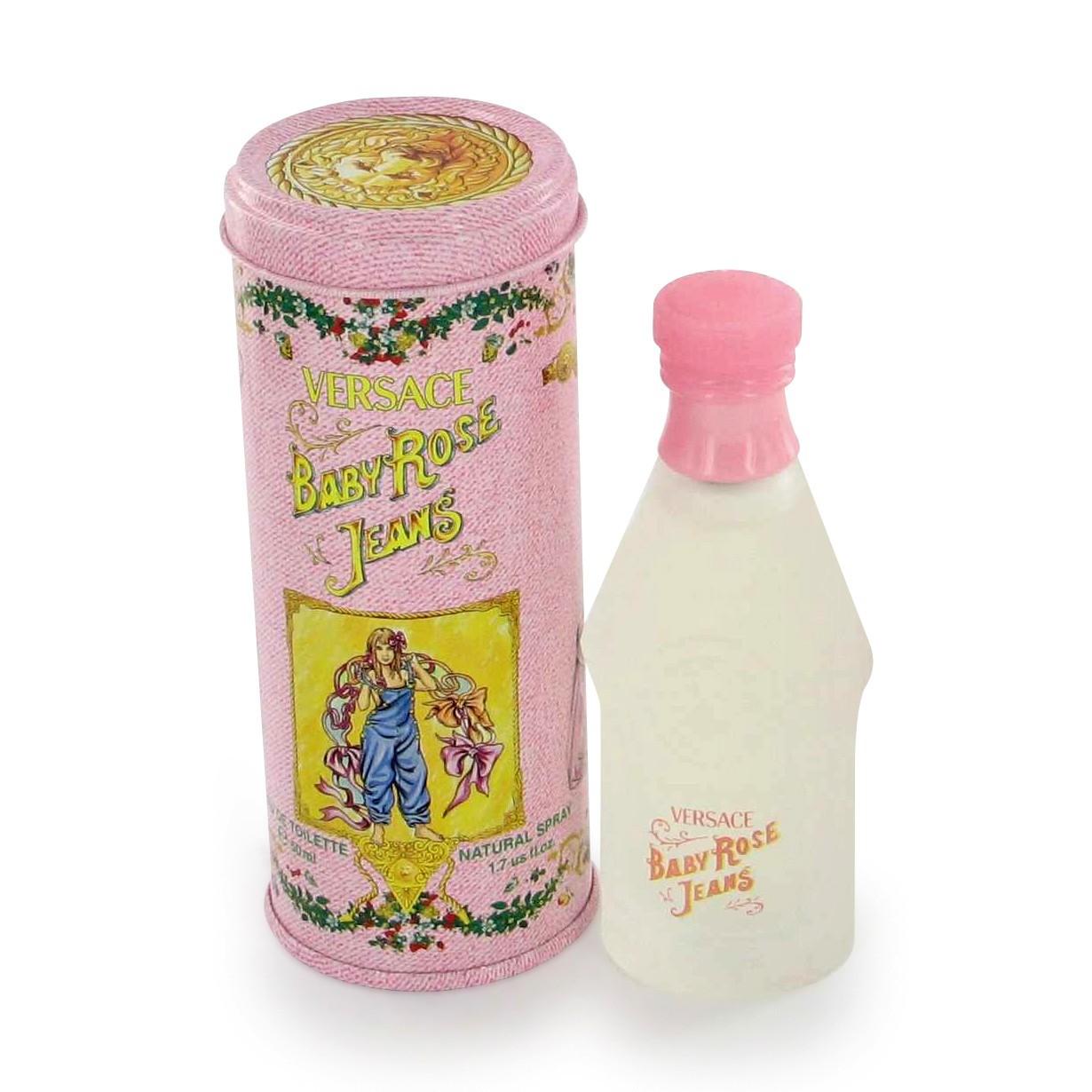 Versace Baby Rose Jeans аромат для девочек