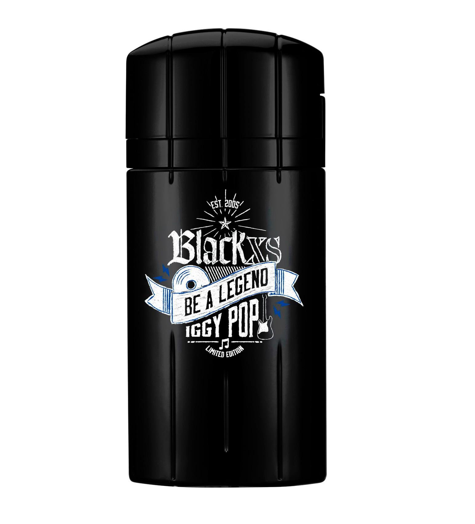 Paco Rabanne Black XS Be a Legend Iggy Pop аромат для мужчин