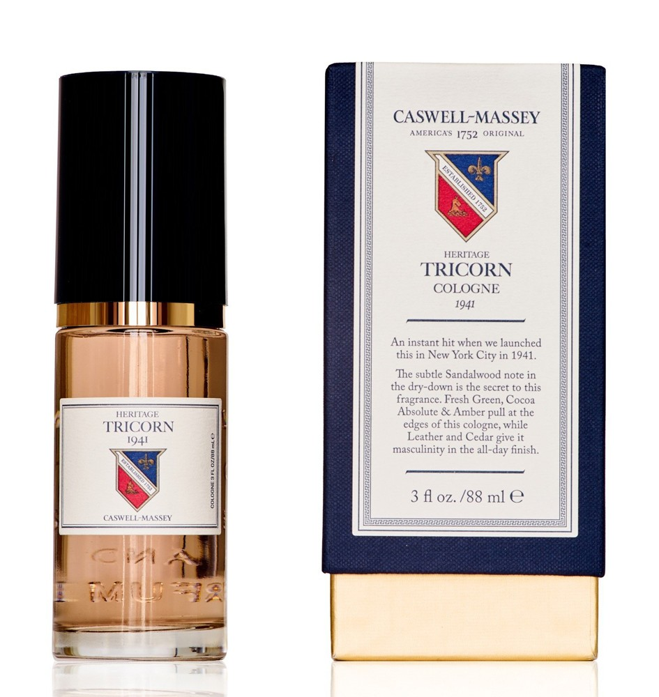 Caswell Massey Heritage Tricorn аромат для мужчин