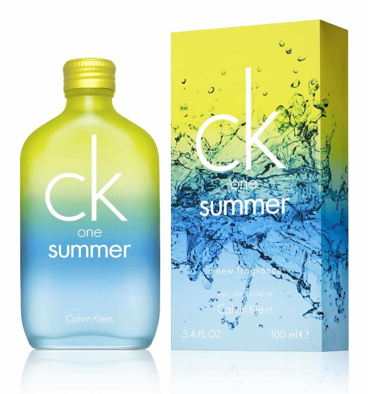 Calvin Klein CK One Summer 2009 аромат для мужчин и женщин
