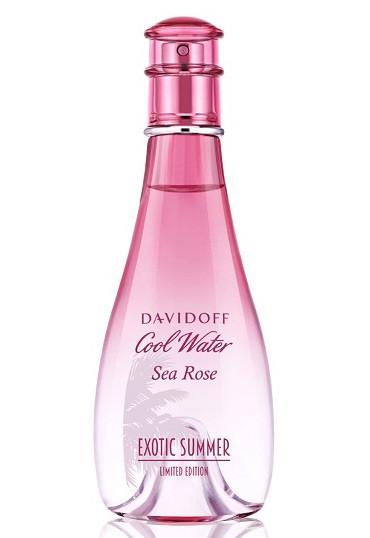 Davidoff Cool Water Sea Rose Exotic Summer аромат для женщин