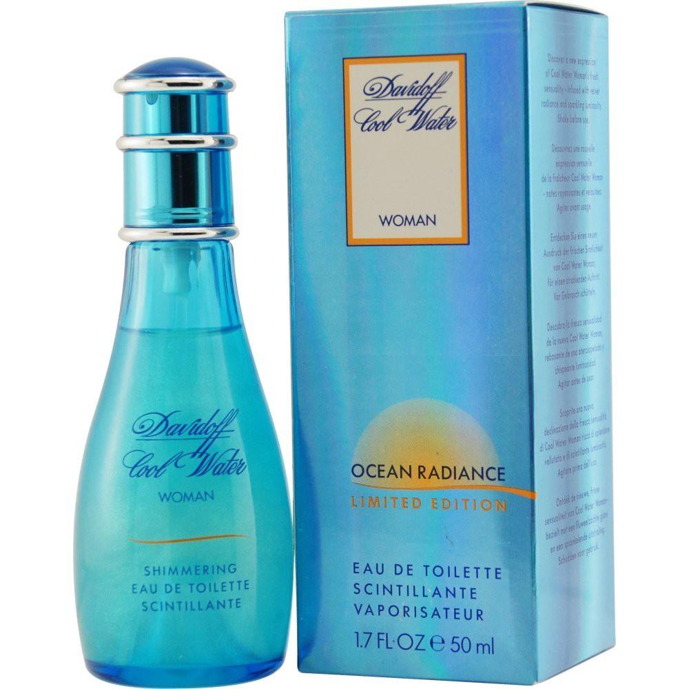 Davidoff Cool Water Woman Ocean Radiance аромат для женщин