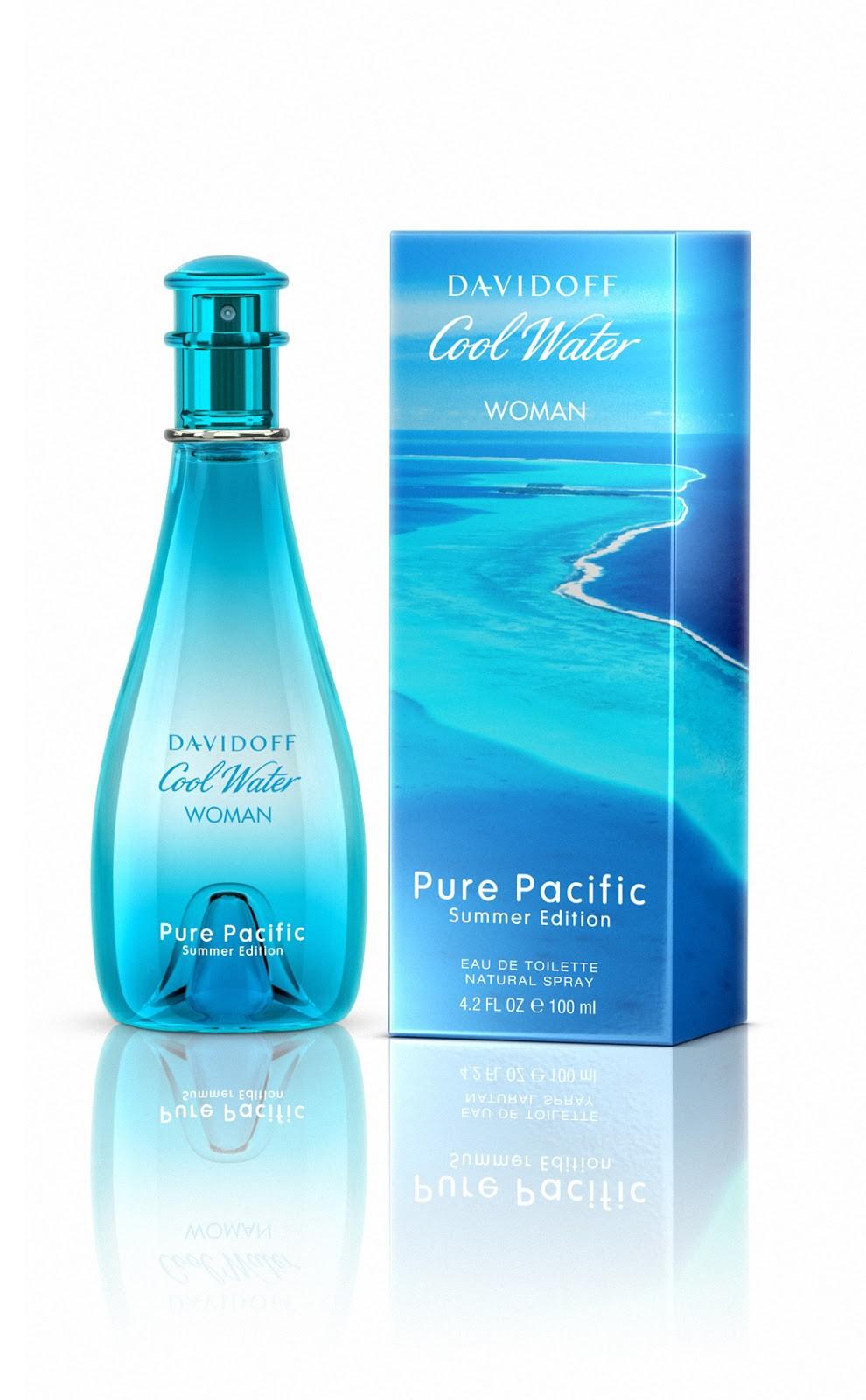 Davidoff Cool Water Woman Pure Pacific аромат для женщин