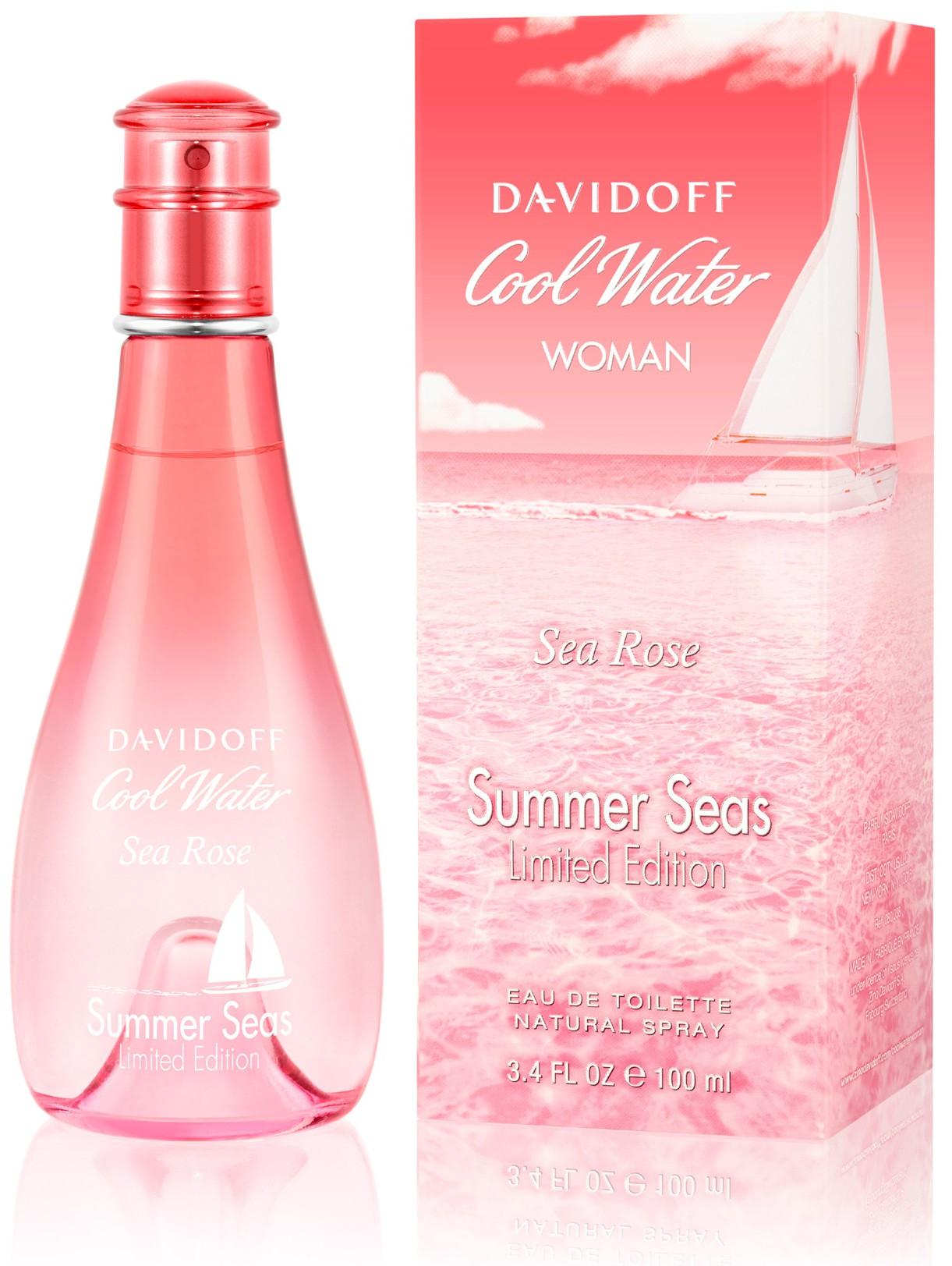 Davidoff Cool Water Woman Sea Rose Summer Seas аромат для женщин