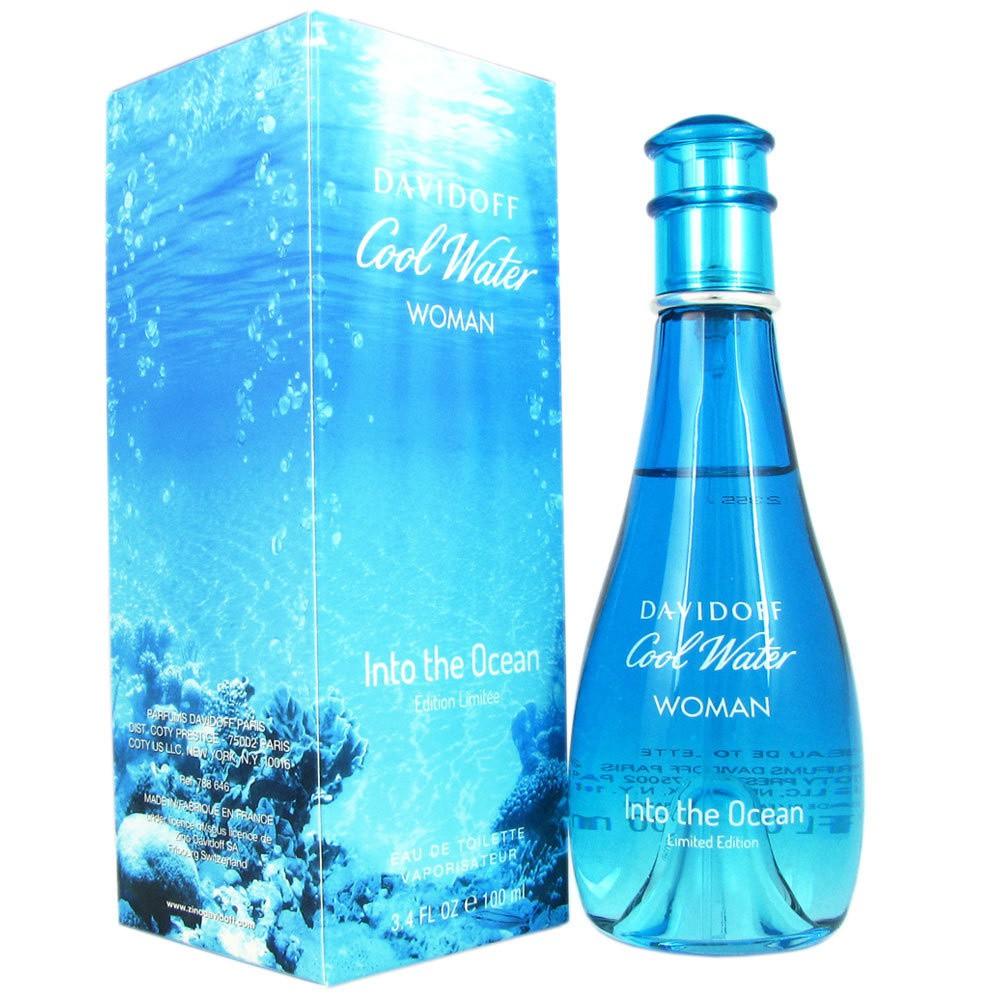 Davidoff Cool Water Woman Into The Ocean аромат для женщин