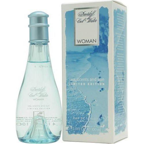 Davidoff Cool Water Woman Sea Scents And Sun аромат для женщин