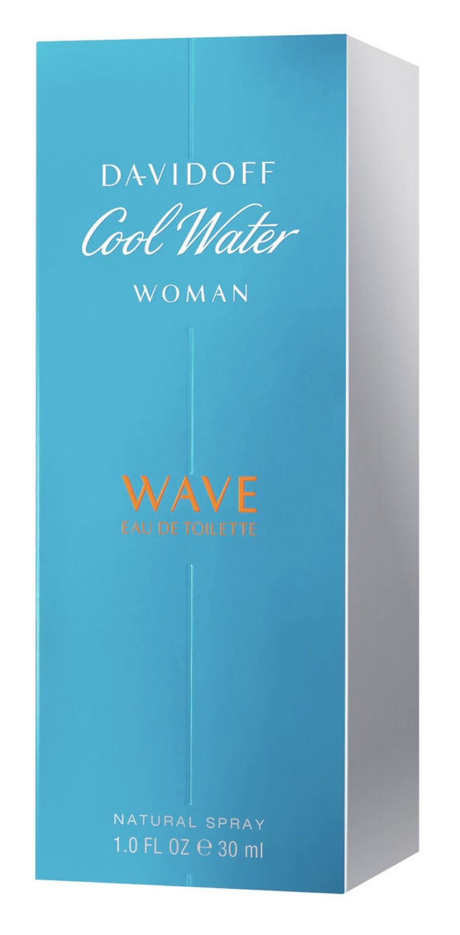 Davidoff Cool Water Wave For Women аромат для женщин