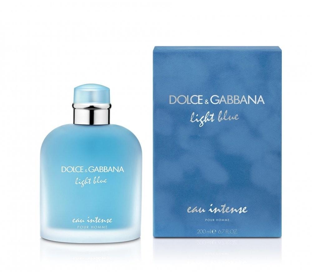 Dolce&Gabbana Light Blue Pour Homme Eau Intense аромат для мужчин