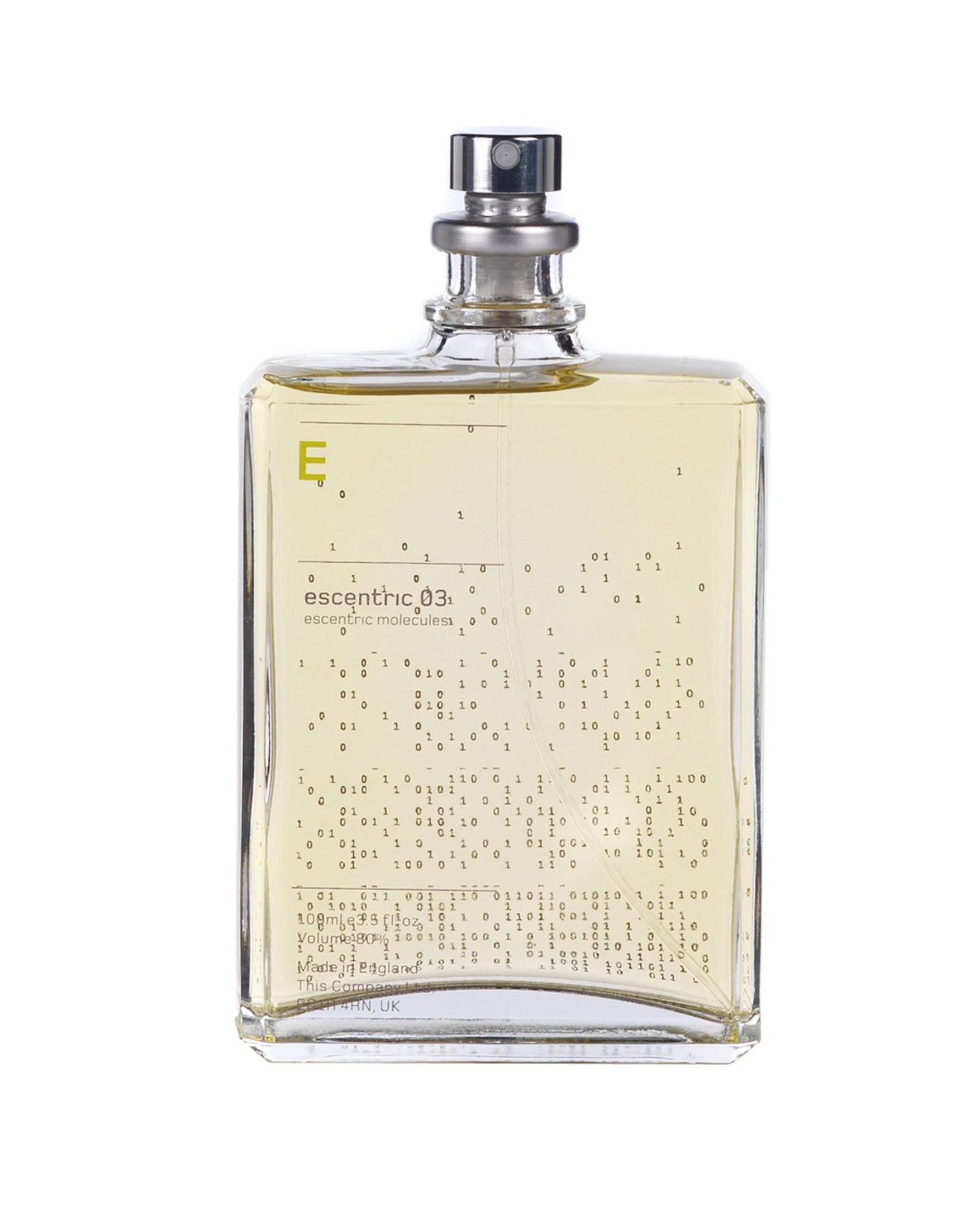 Escentric Molecules Escentric 03 аромат для мужчин и женщин