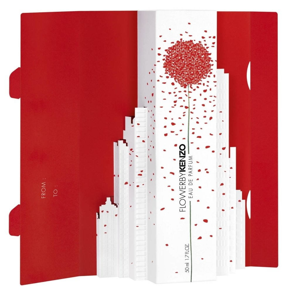 Flower By Kenzo Edition Mademoiselle Red аромат для женщин