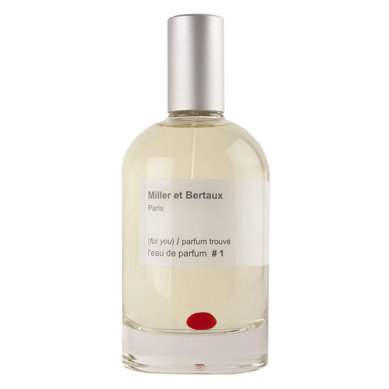 Miller et Bertaux (for you) / Parfum Trouvé #1 аромат для мужчин и женщин