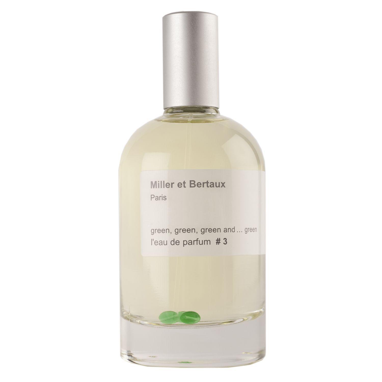 Miller et Bertaux green, green, green and ... green #3 аромат для мужчин и женщин