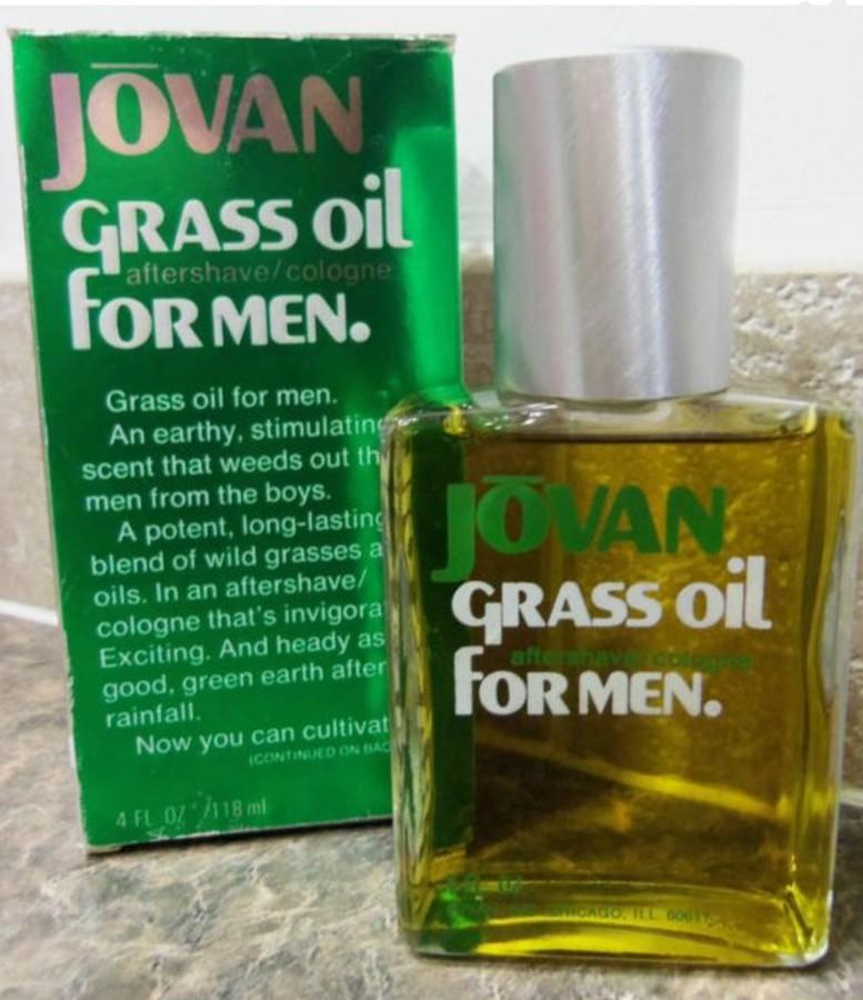 Jovan Grass Oil аромат для мужчин