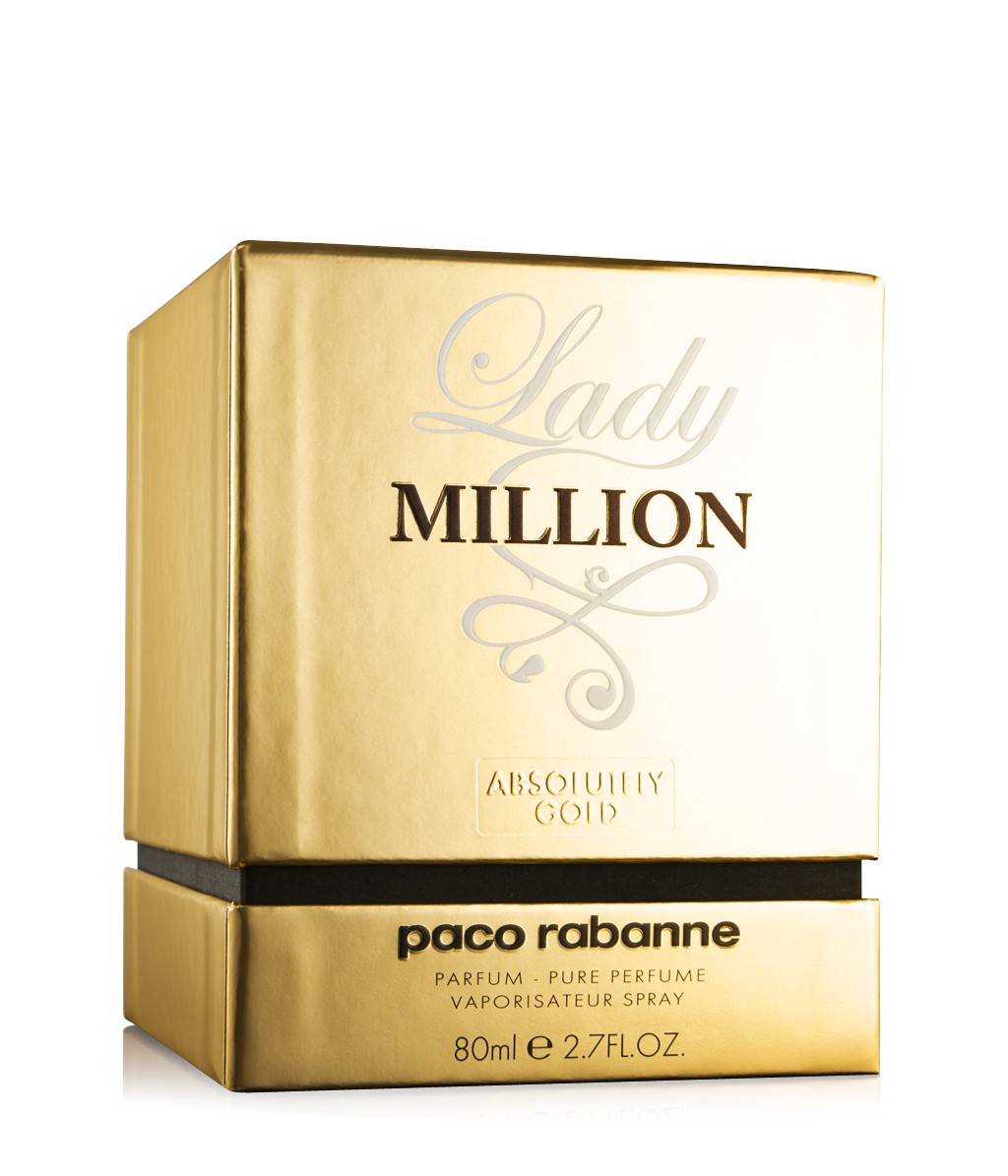 Paco Rabanne Lady Million Absolutely Gold аромат для женщин