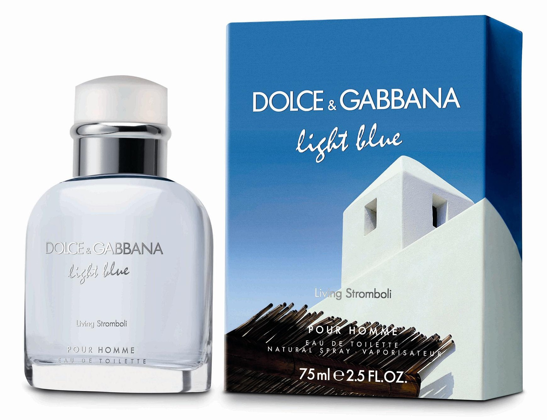 Dolce&Gabbana Light Blue pour Homme Living Stromboli аромат для мужчин