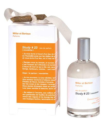 Miller et Bertaux Study #23 Newsletter аромат для мужчин и женщин
