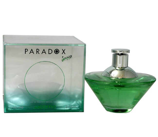 Jacomo Paradox Green аромат для женщин
