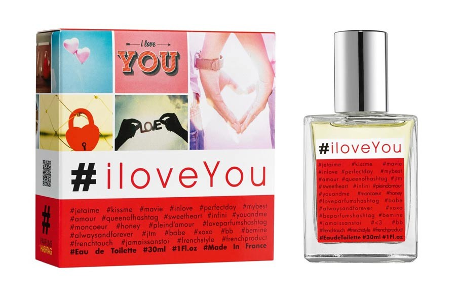 Parfum Hashtag #iloveYou аромат для женщин