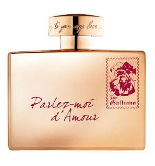 John Galliano Parlez-Moi d'Amour Gold Edition аромат для женщин