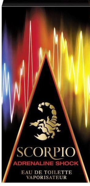Scorpio Adrenaline Shock аромат для мужчин