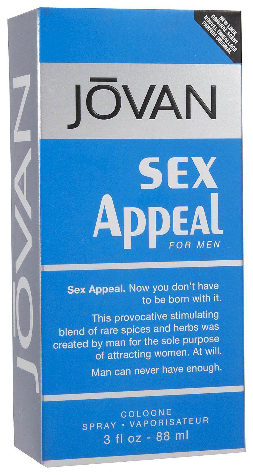 Jovan Sex Appeal for Men аромат для мужчин
