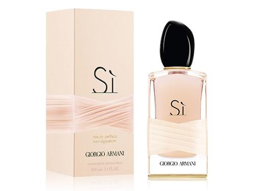 Armani Sì Rose Signature аромат для женщин