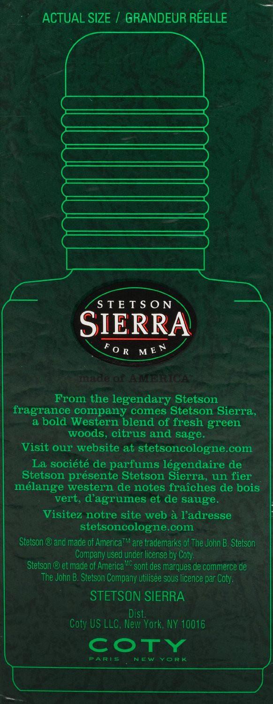 Stetson Sierra аромат для мужчин