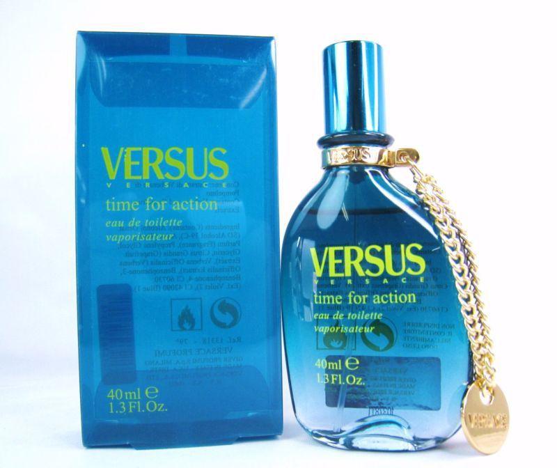 Versace Time for Action аромат для мужчин