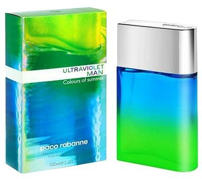 Paco Rabanne Ultraviolet Man Colours Of Summer аромат для мужчин
