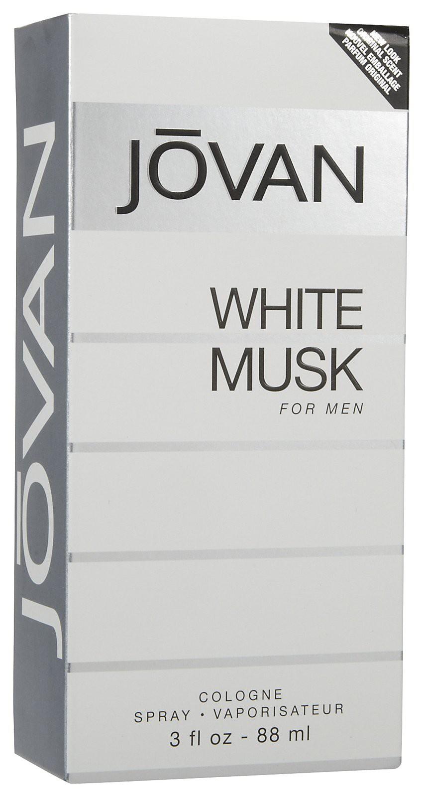 Jovan White Musk for Men аромат для мужчин