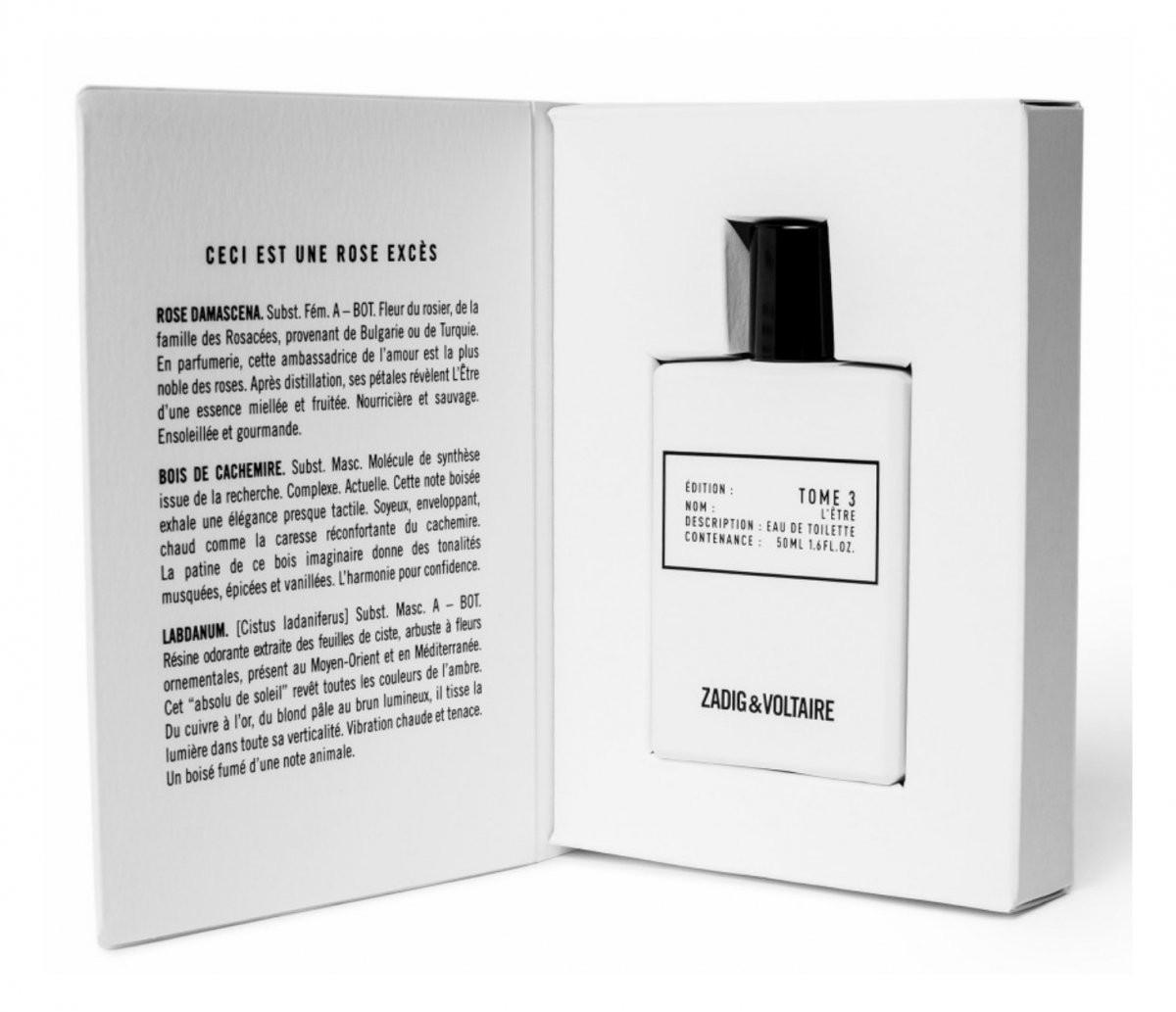 Zadig & Voltaire Tome 3 L'Etre аромат для мужчин и женщин