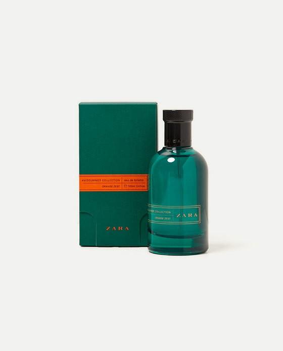Zara #midsummer Orange Zest аромат для мужчин