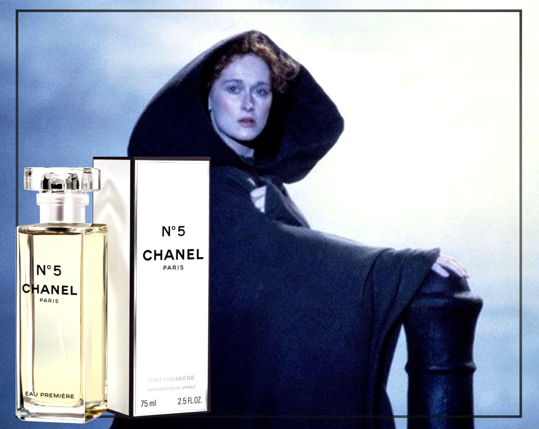 Сара примеряет Chanel №5