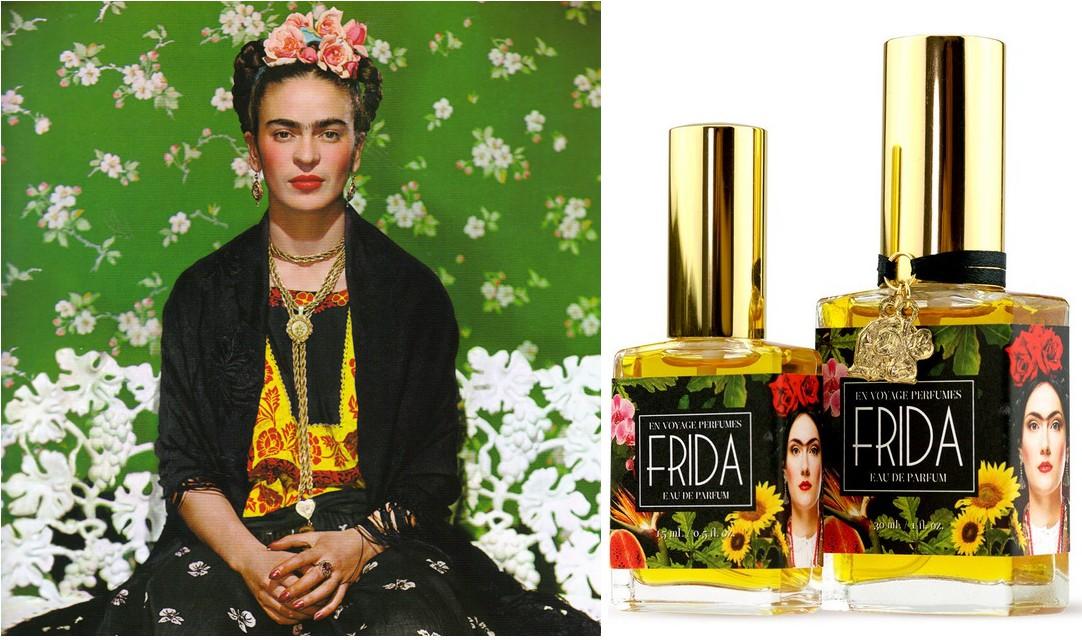 Фрида Кало и Frida Eau De Parfum