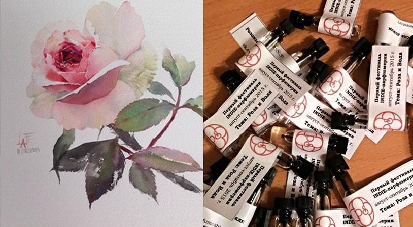 Анна Втюрина: «Розовый сад после дождя»