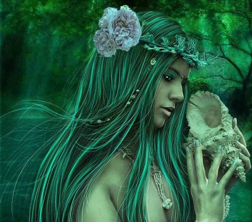 Виталий Мостовой : «Роза в волосах русалки»