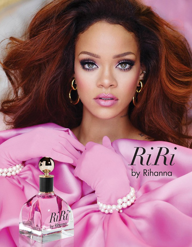 Постер нового аромата RiRi от Рианны