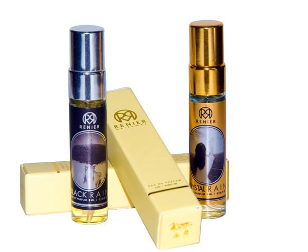 Crystal Rain Black Rain Renier Parfums