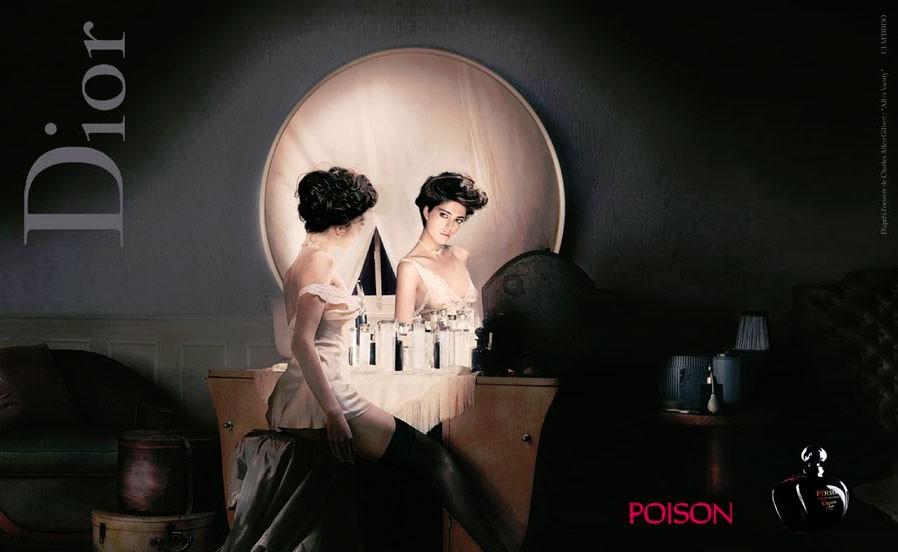 Рекламный постер Dior Poison